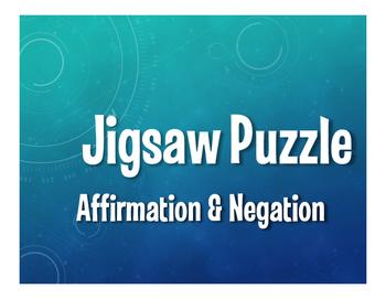 Spanish Affirmation and Negation Jigsaw Puzzle