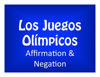 Spanish Affirmation and Negation Olympics