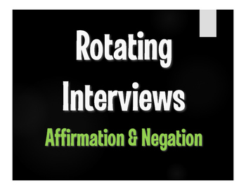 Spanish Affirmation and Negation Rotating Interviews