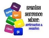 Spanish Affirmation and Negation Sentence Mixer