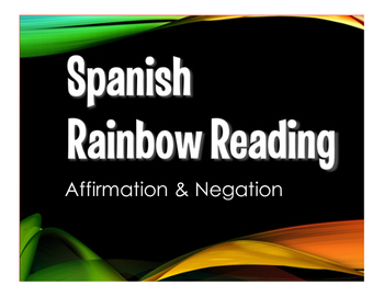 Spanish Affirmation and Negation Stations