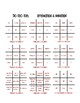 Spanish Affirmation and Negation Tic Tac Toe