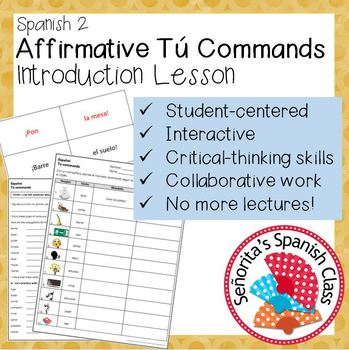 Spanish - Affirmative Tu Commands - Introduction Lesson