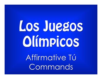 Spanish Affirmative Tú Commands Olympics