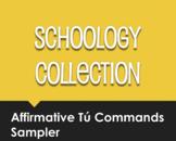 Spanish Affirmative Tú Commands Schoology Collection Sampler
