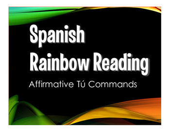 Spanish Affirmative Tú Commands Stations