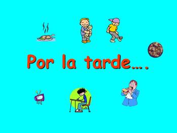 Spanish Teaching Resources. After School Activities + Pres