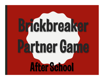 Spanish After School Brickbreaker Game