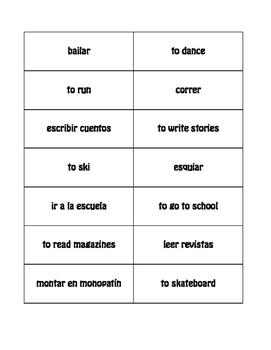 Spanish After School Buzz Game