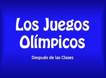 Spanish After School Olympics