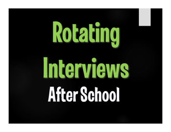 Spanish After School Rotating Interviews