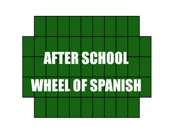 Spanish After School Wheel of Spanish