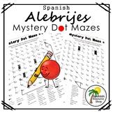 Spanish Alebrijes Mystery Dot Mazes