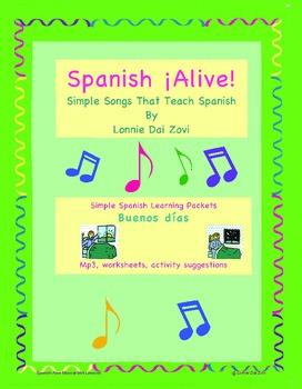 Spanish ¡Alive! Musical Mini-lessons – Buenos días By Lonnie Dai Zovi