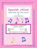 Spanish ¡Alive! Musical Mini-lessons – ¿Cómo estás , mi amigo?