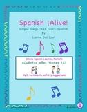 Spanish ¡Alive! Musical Mini-lessons - ¿Cuántos años tienes tú ?