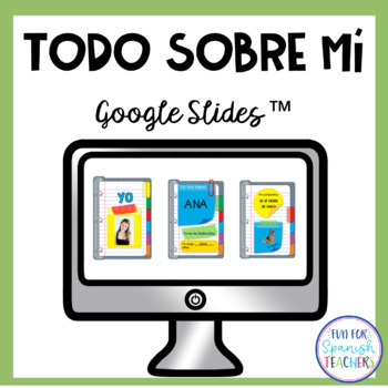 Spanish All About Me Digital Resource