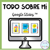 Spanish All About Me Digital Resource (Distance Learning)