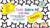Spanish All About Me Mini Books -Todo Sobre Mí - Bilingual, Dual Language