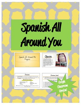 Spanish All Around You - Digital Scrapbook Version!!