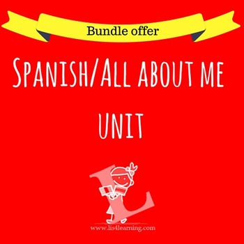 Spanish - All about me unit