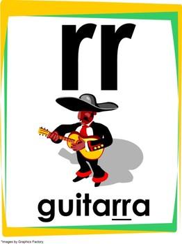 "Spanish Alphabet (30 Individual Letters 8.5""x11"")"