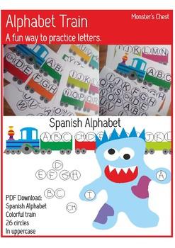 Spanish Alphabet.  ABC activities