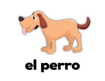 Animals! Spanish Flashcards Free