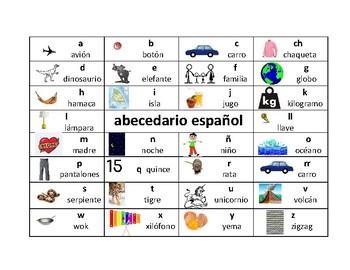 Spanish Alphabet/ Abecedario