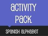 Spanish Alphabet Activity Pack