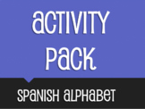 Spanish Alphabet Activity Pack