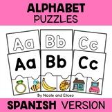 Spanish Alphabet Activity Puzzles