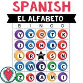 Spanish Alphabet Activity - Spanish Bingo Game - Beginning