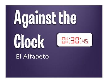 Spanish Alphabet Against the Clock