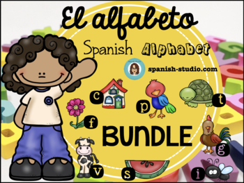 Spanish Alphabet/ Alfabeto en Español GROWING BUNDLE