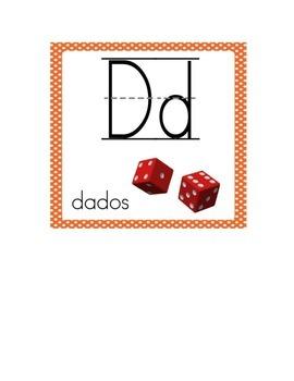 Spanish Alphabet - Alfabeto español