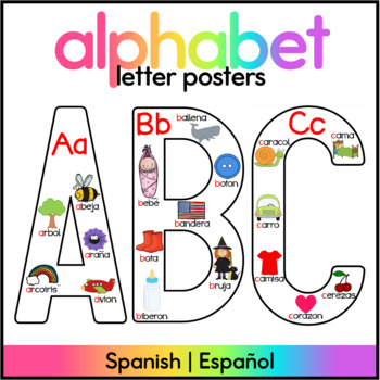Spanish Alphabet Anchor Charts