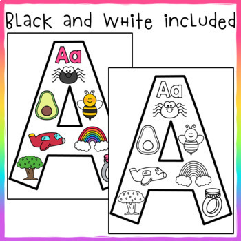Spanish Alphabet Anchor Charts 2.0