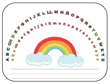 Spanish Alphabet Arc Mat