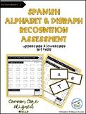 Spanish Alphabet Assessment 1: Letters & Digraphs