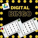 Spanish Alphabet BINGO Remote Learning