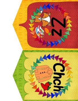 Spanish Alphabet Banner