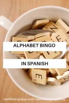 Spanish Alphabet Bingo By Real Life Language Teachers