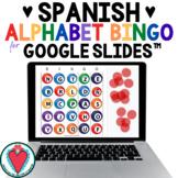 Spanish Alphabet Bingo - Spanish Games for Google Slides™