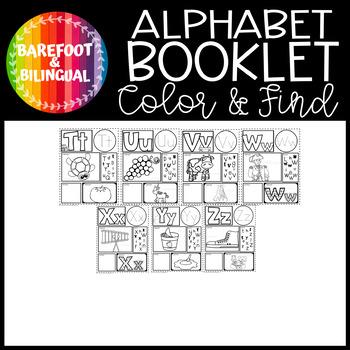 Spanish Alphabet Book