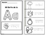 Spanish Alphabet Flip Books - Libritos Del Alfabeto