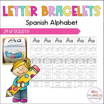 Spanish Alphabet Bracelets!