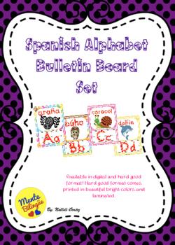 Spanish Alphabet Bulletin Board Set
