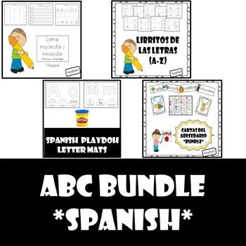 Spanish Alphabet Bundle
