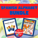 Spanish Alphabet Bundle - Flashcards and Coloring Pages